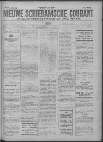 Nieuwe Schiedamsche Courant 1929-07-26