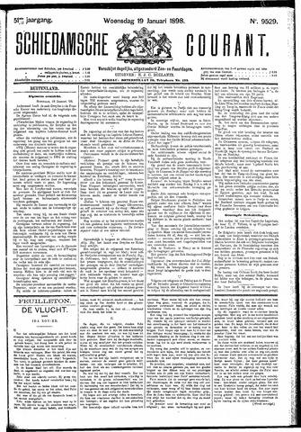 Schiedamsche Courant 1898-01-19