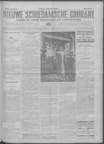Nieuwe Schiedamsche Courant 1929-08-02