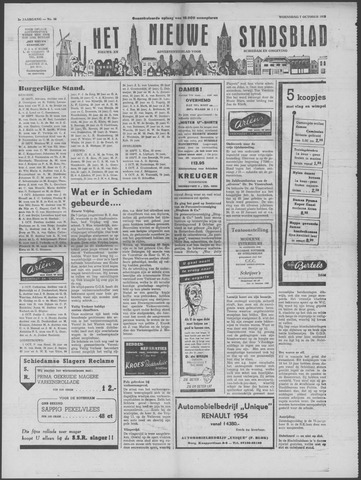Het Nieuwe Stadsblad 1953-10-07