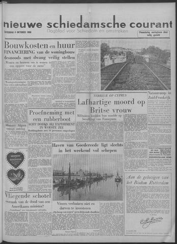 Nieuwe Schiedamsche Courant 1958-10-04