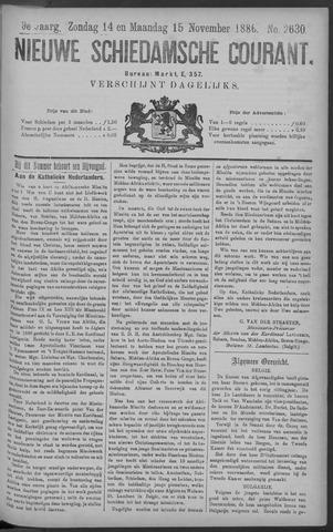 Nieuwe Schiedamsche Courant 1886-11-15