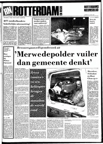 Rotterdamsch Nieuwsblad / Schiedamsche Courant / Rotterdams Dagblad / Waterweg / Algemeen Dagblad 1983-04-09