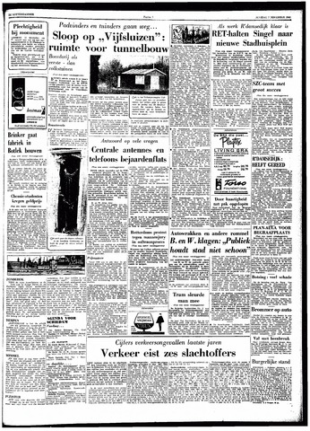Trouw / De Rotterdammer 1962-11-07