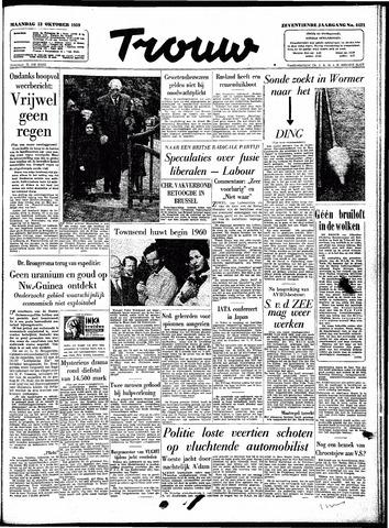 Trouw / De Rotterdammer 1959-10-12