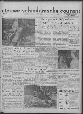 Nieuwe Schiedamsche Courant 1958-07-24