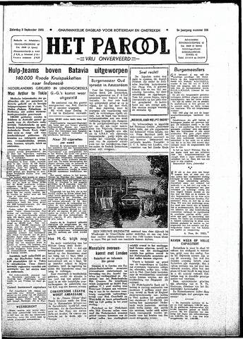 Rotterdamsch Parool / De Schiedammer 1945-09-08