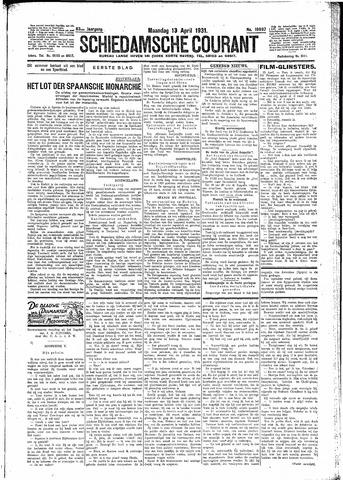 Schiedamsche Courant 1931-04-13