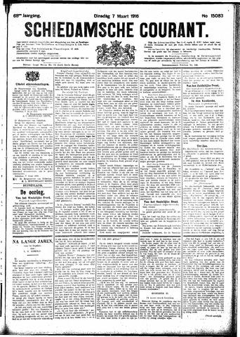 Schiedamsche Courant 1916-03-07