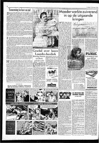 Rotterdamsch Parool / De Schiedammer 1959-02-13