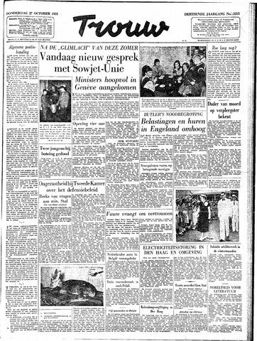 Trouw / De Rotterdammer 1955-10-27