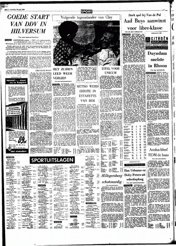 Rotterdamsch Parool / De Schiedammer 1966-04-18