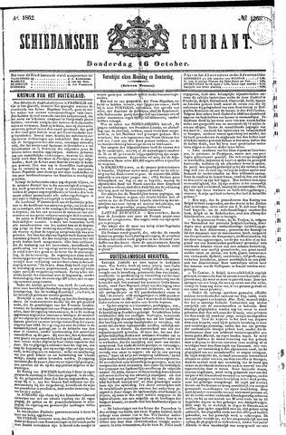 Schiedamsche Courant 1862-10-16