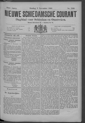 Nieuwe Schiedamsche Courant 1901-11-03