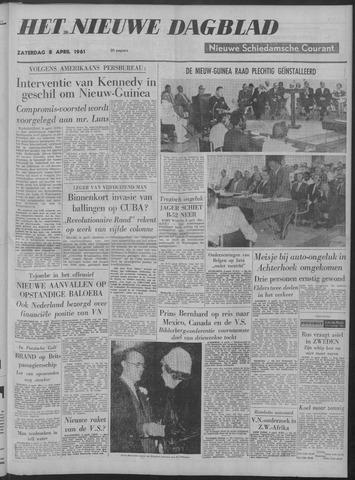 Nieuwe Schiedamsche Courant 1961-04-08