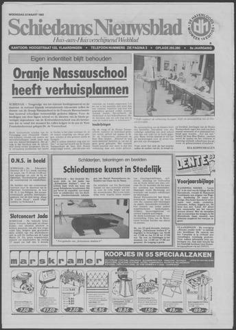 Schiedams Nieuwsblad 1983-03-23
