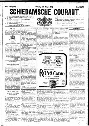 Schiedamsche Courant 1912-03-26