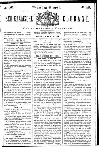 Schiedamsche Courant 1877-04-18