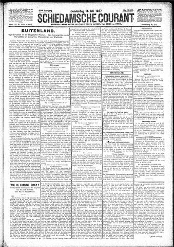 Schiedamsche Courant 1927-07-14