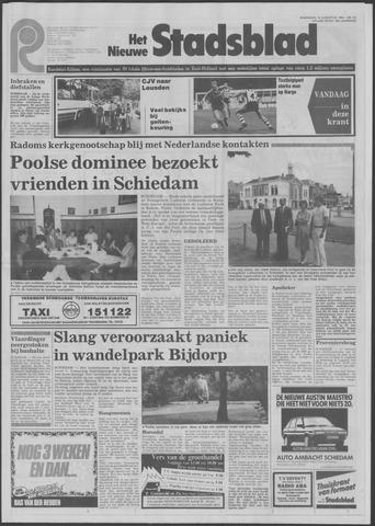 Het Nieuwe Stadsblad 1984-08-15