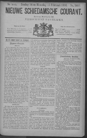 Nieuwe Schiedamsche Courant 1886-02-15