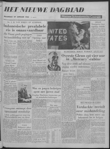 Nieuwe Schiedamsche Courant 1962-01-29