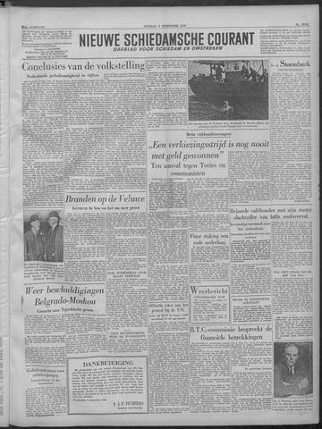 Nieuwe Schiedamsche Courant 1949-09-06