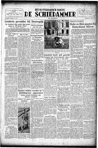 Rotterdamsch Parool / De Schiedammer 1947-04-12