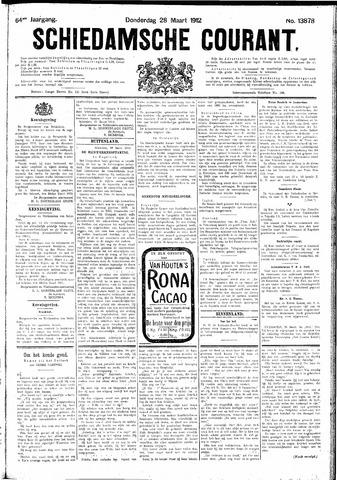 Schiedamsche Courant 1912-03-28