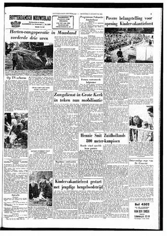 Rotterdamsch Nieuwsblad / Schiedamsche Courant / Rotterdams Dagblad / Waterweg / Algemeen Dagblad 1964-08-03