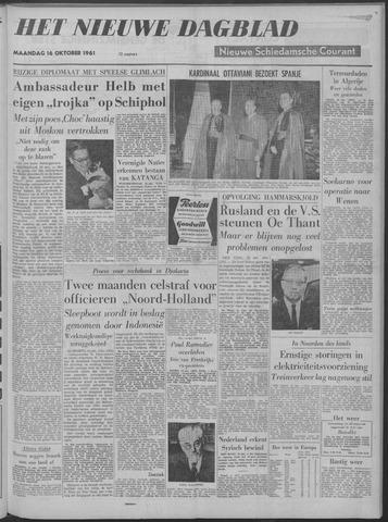 Nieuwe Schiedamsche Courant 1961-10-16