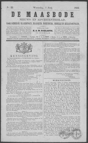 De Maasbode 1853-06-01