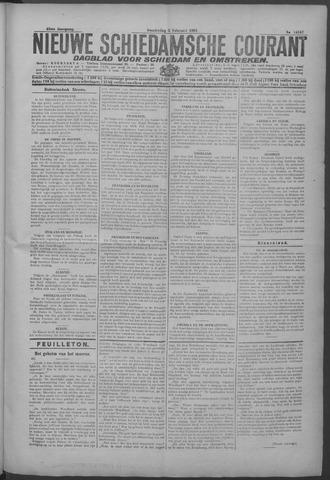 Nieuwe Schiedamsche Courant 1925-02-05