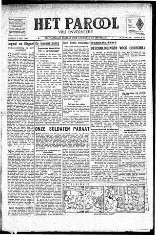 Rotterdamsch Parool / De Schiedammer 1945-07-03