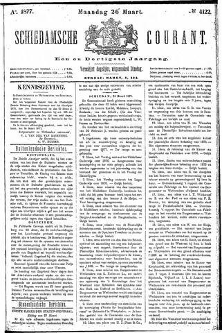 Schiedamsche Courant 1877-03-26