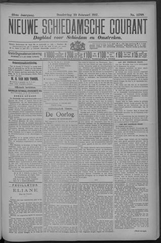 Nieuwe Schiedamsche Courant 1917-02-22