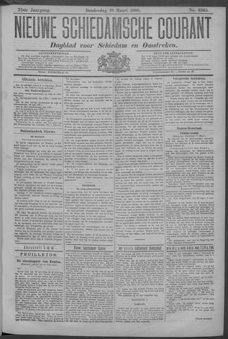 Nieuwe Schiedamsche Courant 1909-03-18
