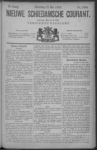 Nieuwe Schiedamsche Courant 1886-05-22
