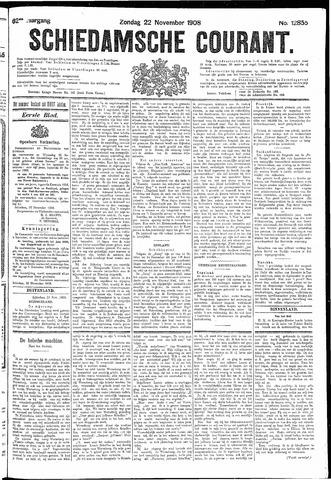 Schiedamsche Courant 1908-11-22