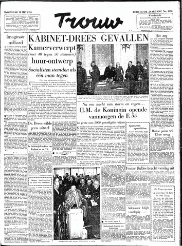 Trouw / De Rotterdammer 1955-05-18