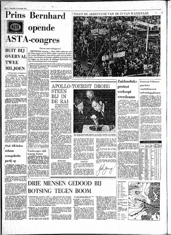 Rotterdamsch Parool / De Schiedammer 1970-11-02