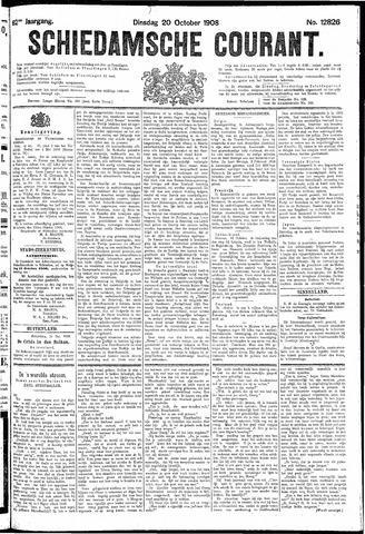 Schiedamsche Courant 1908-10-20