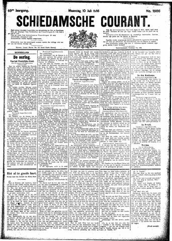 Schiedamsche Courant 1916-07-10