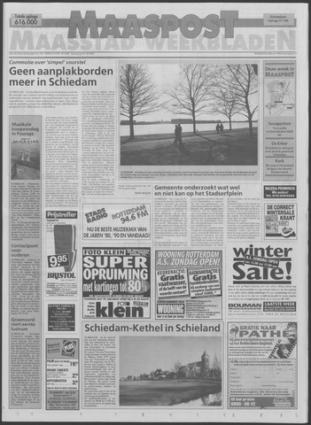 Maaspost / Maasstad / Maasstad Pers 1999-02-03