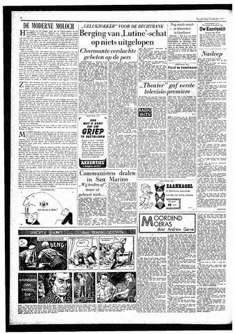 Rotterdamsch Parool / De Schiedammer 1957-10-10