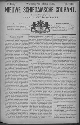 Nieuwe Schiedamsche Courant 1886-10-27