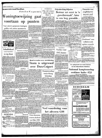 Rotterdamsch Parool / De Schiedammer 1963-06-25