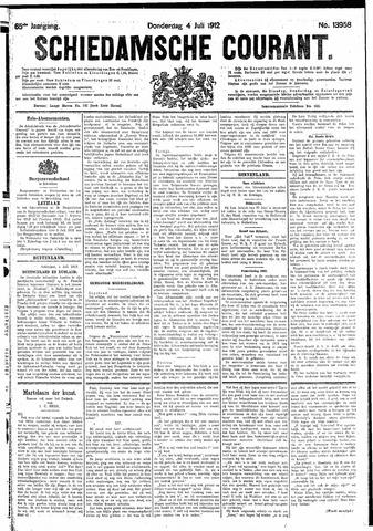Schiedamsche Courant 1912-07-04