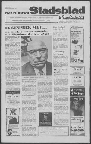 Het Nieuwe Stadsblad 1969-11-07