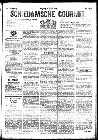 Schiedamsche Courant 1916-04-14